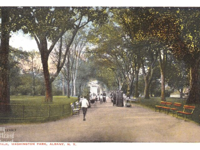 Elm Walk, Washington Park