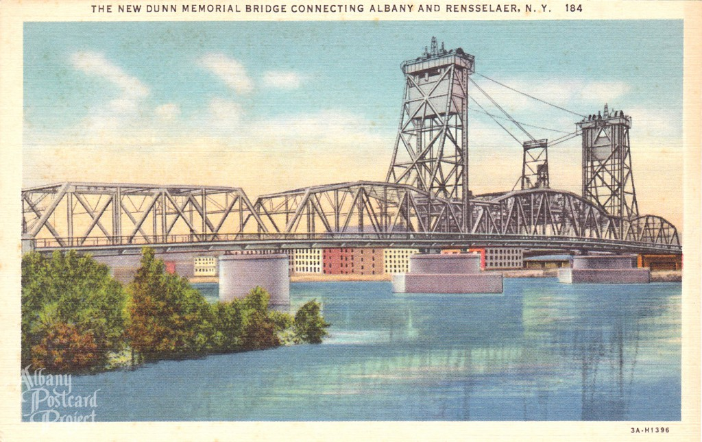 New Dunn Memorial Bridge Connecting Albany and Rensselaer