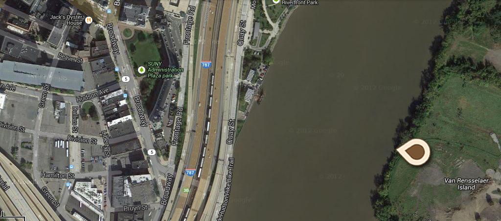 Map Steamboat Landing