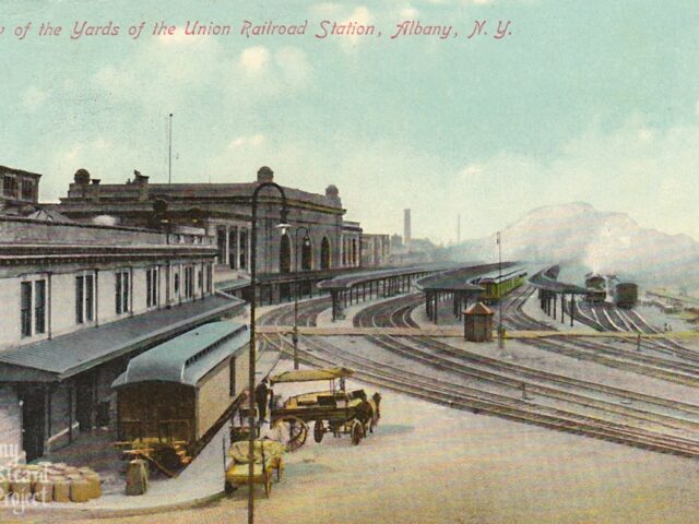View of the Yards of the Union Railroad Station