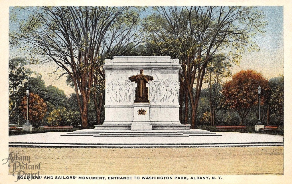 Soldiers and Sailors Monument Entrance to Washington Park
