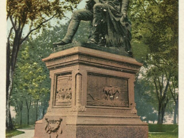 Burns Statue, Washington Park