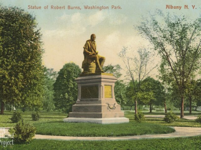 Statue of Robert Burns, Washington Park