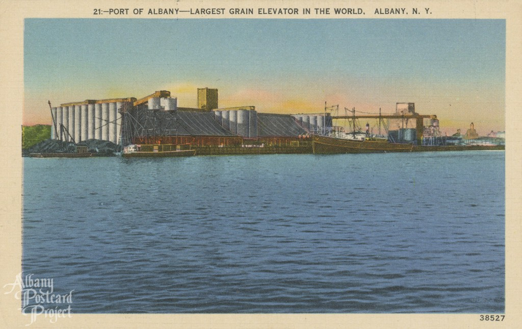 Port of Albany - Largest Grain Elevator in the World
