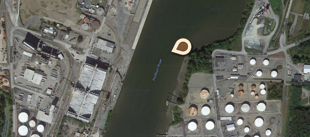 Map Port of Albany, Largest Grain Elevator in the World 02