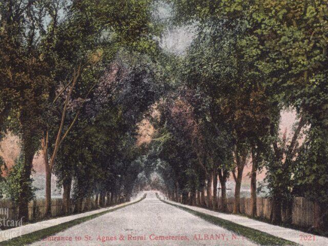 Entrance to St. Agnes & Rural Cemeteries