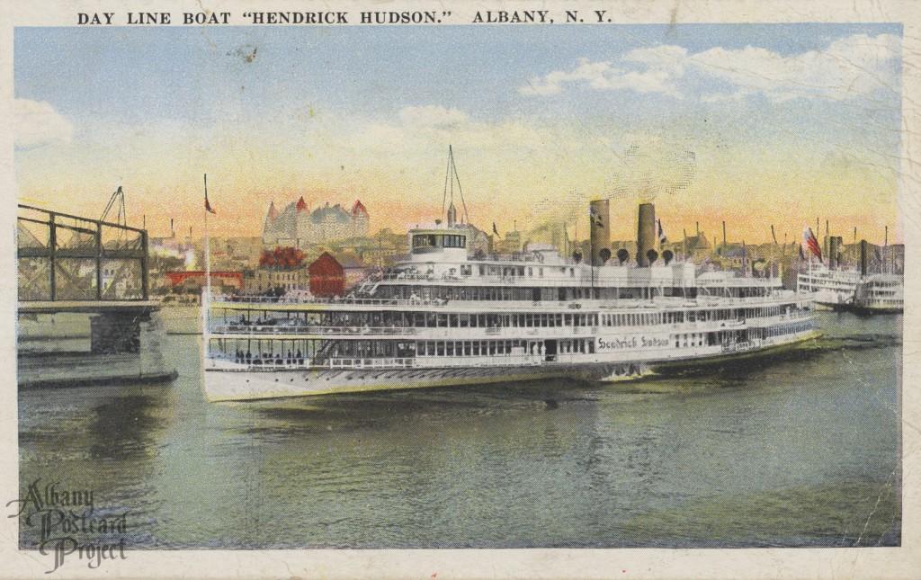Day Line Boat Hendrick Hudson