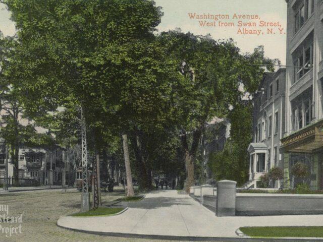 Washington Avenue, West from Swan Street