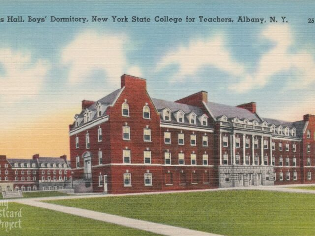 Sayles Hall, Boys' Dormitory, New York State College for Teachers