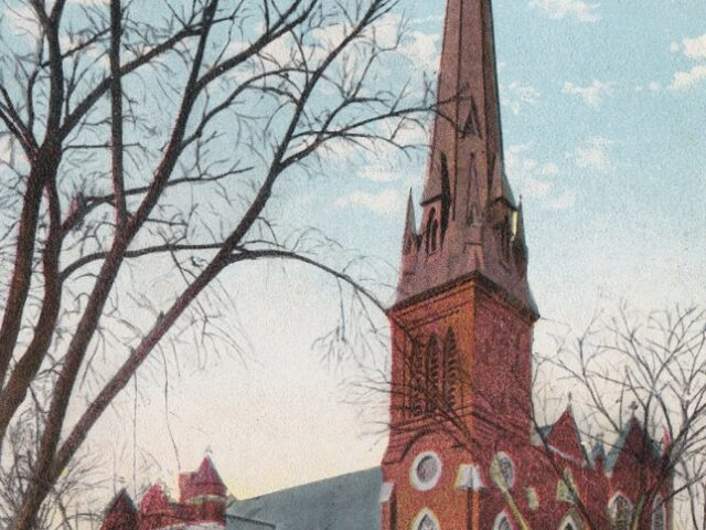 Trinity Methodist Episcopal Church, N.W., corner Lark and Lancaster Sts.