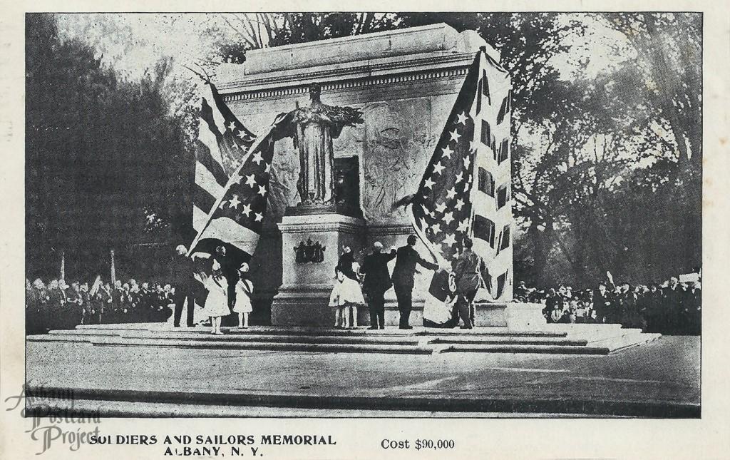 Soldiers and Sailors Memorial Dedication