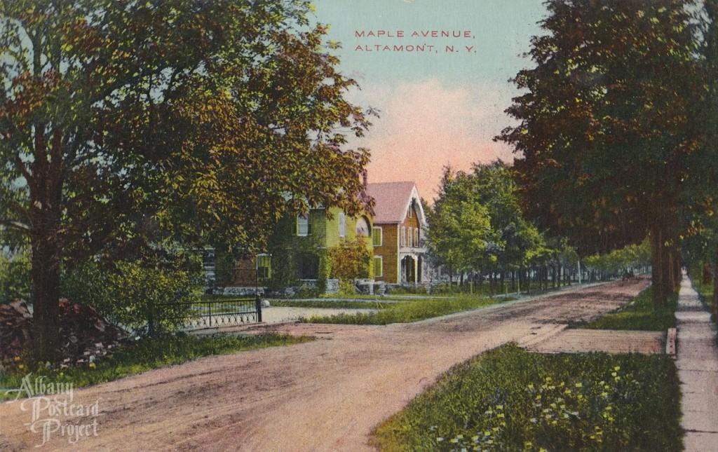 Maple Avenue, Altamont