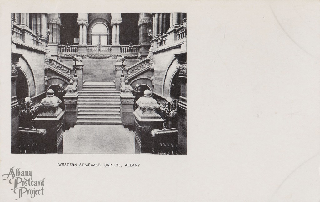 Western Staircase, Capitol