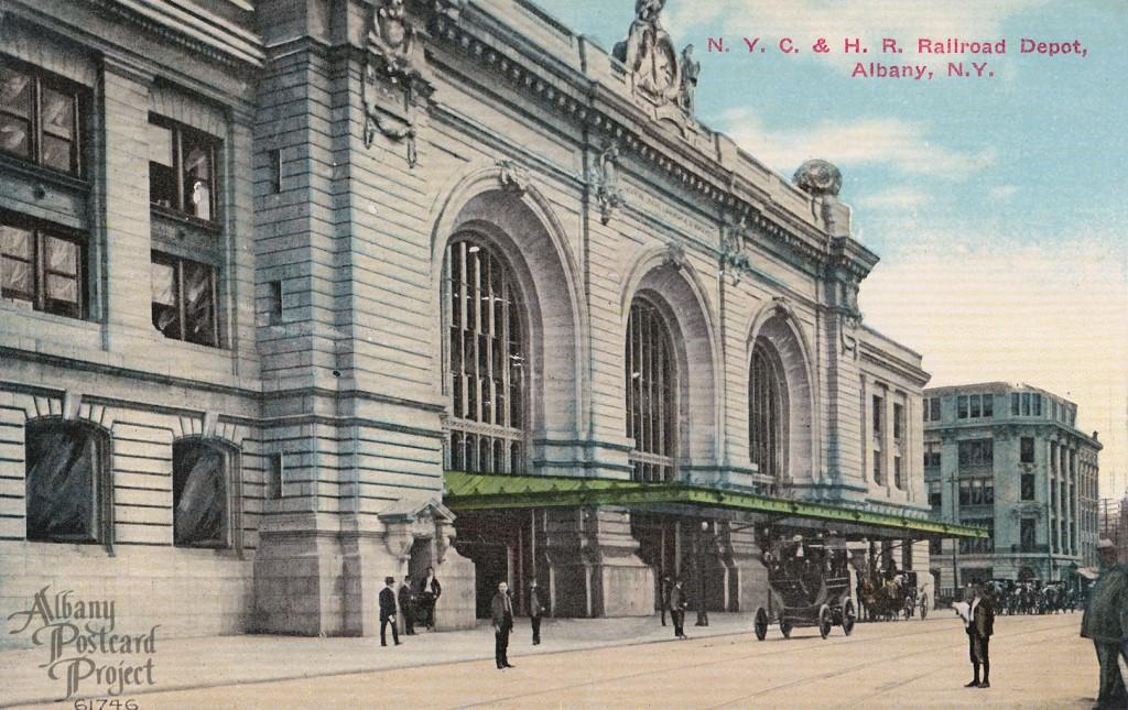 NYC & HR Railroad Depot