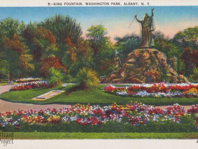 King Fountain, Washington Park