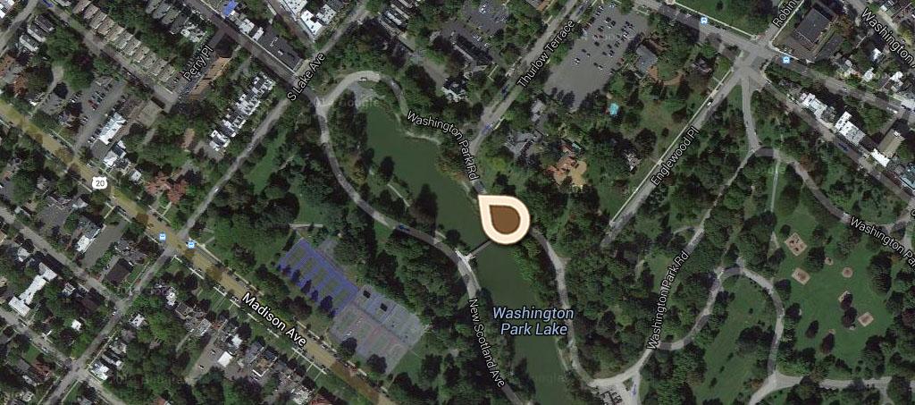 Map Washington Park Lake 01