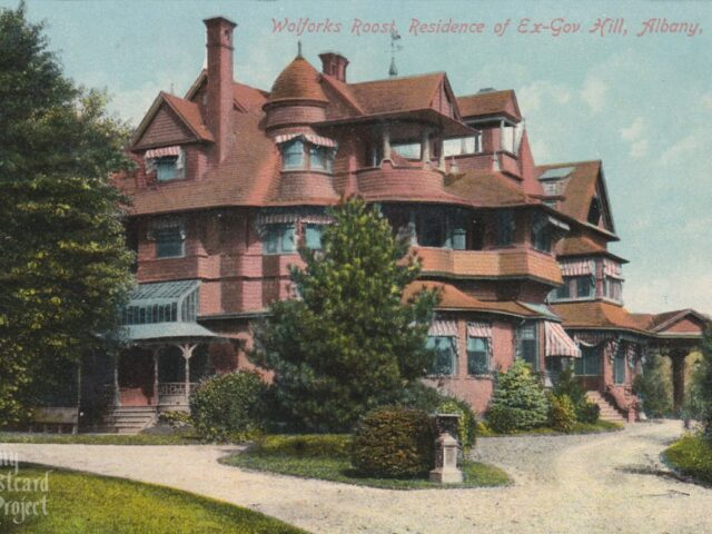 Wolforks Roost, Residence of Ex-Gov. Hill