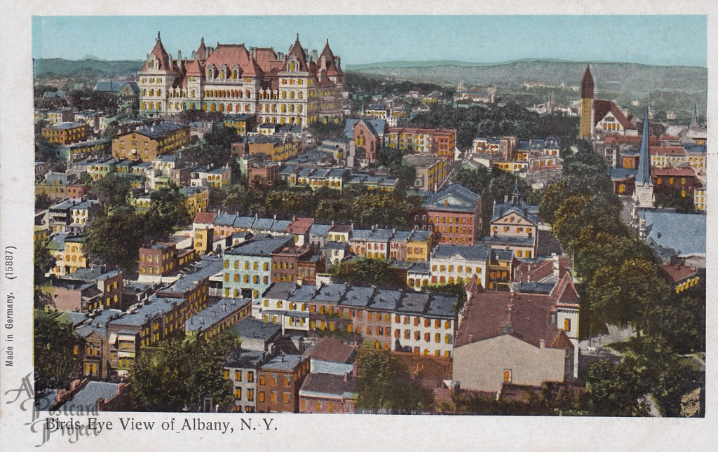 Birds Eye View of Albany