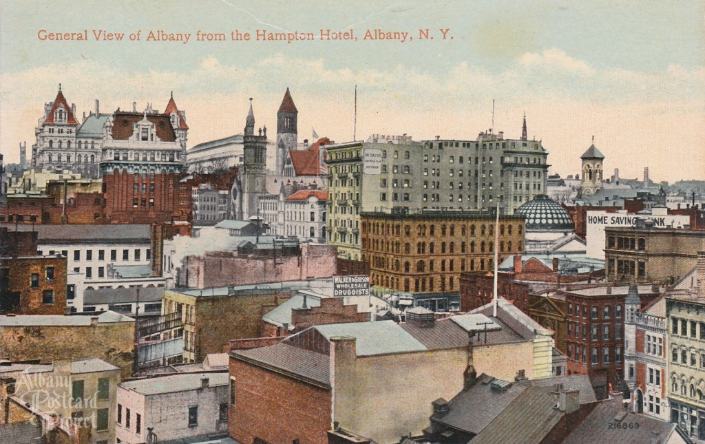 General View of Albany from Hampton Hotel