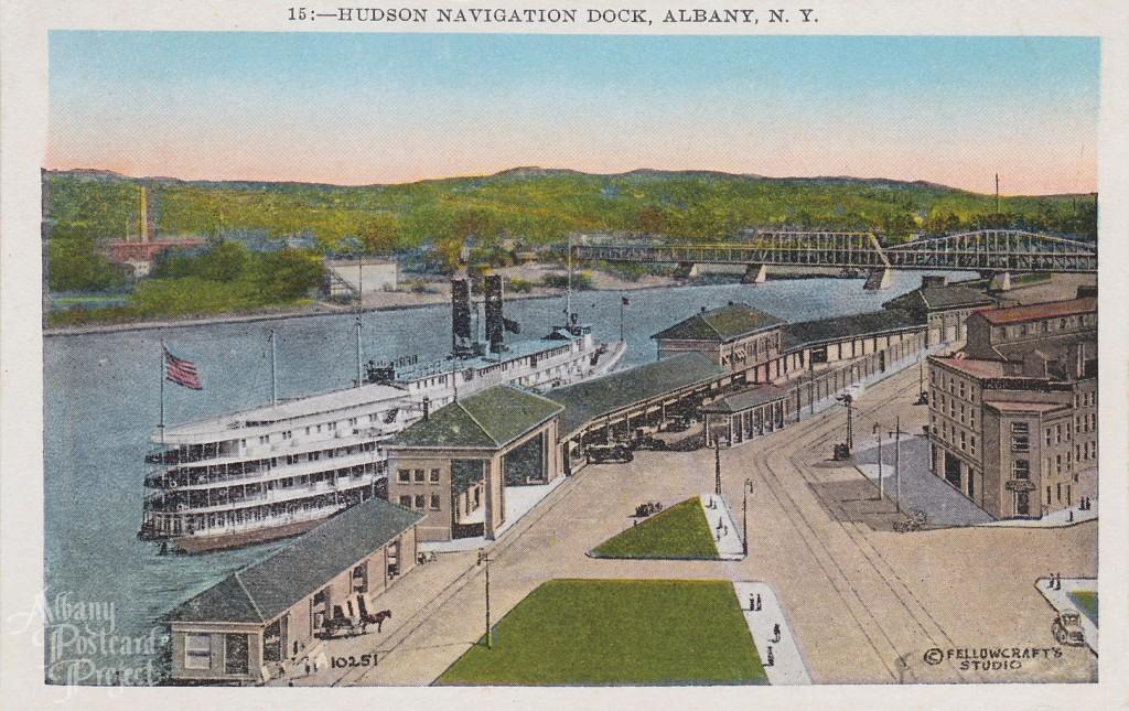 Hudson Navigation Dock