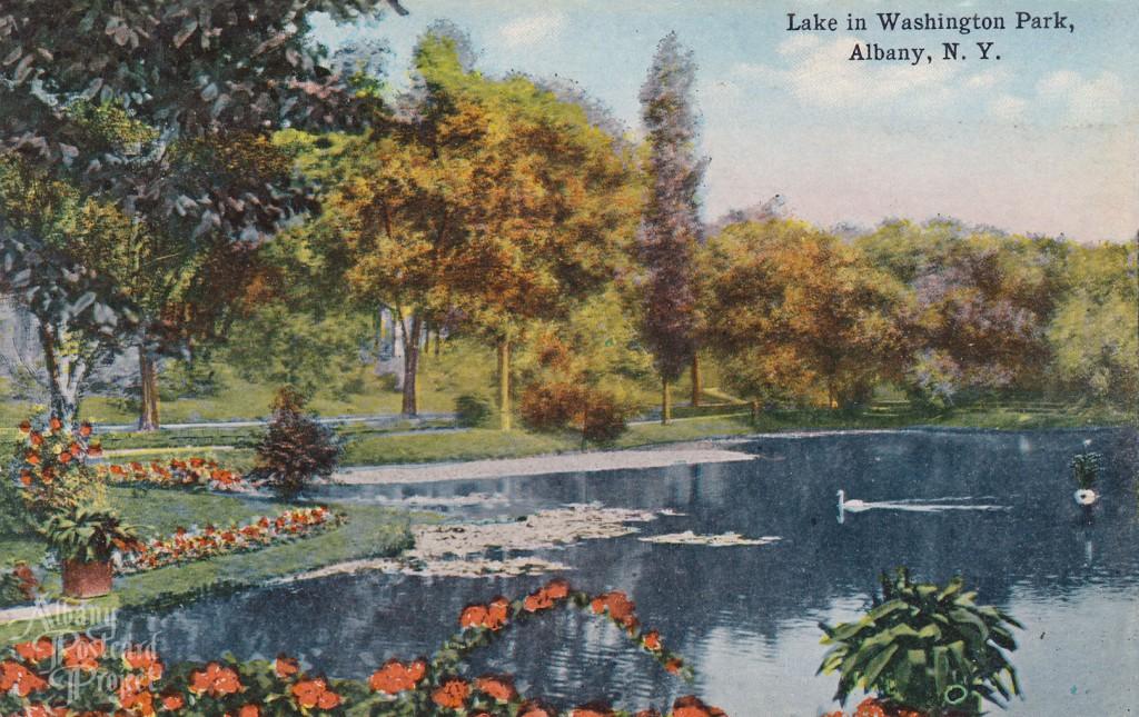 Lake in Washington Park