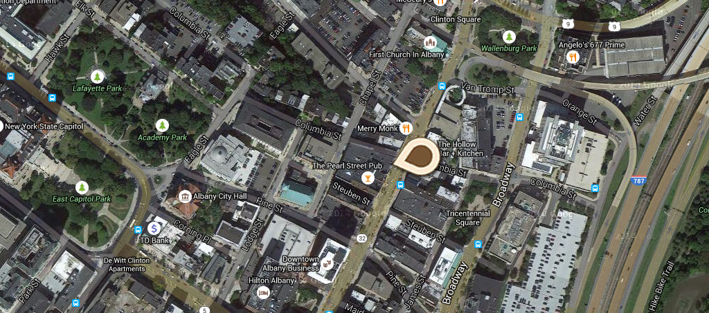 Map New Kenmore Hotel
