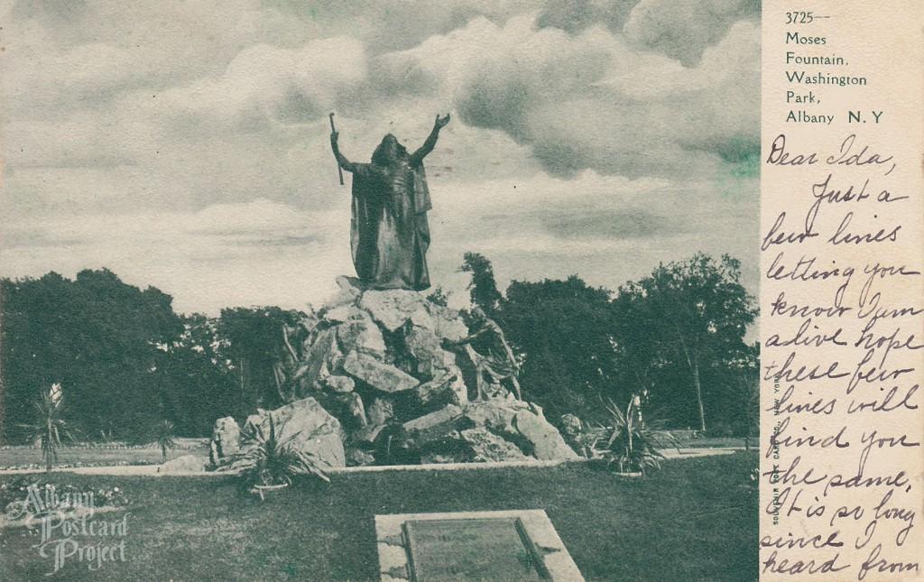 Moses Fountain, Washington Park