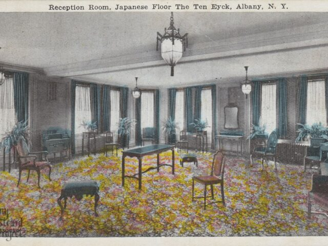 Reception Room, Japanese Floor The Ten Eyck