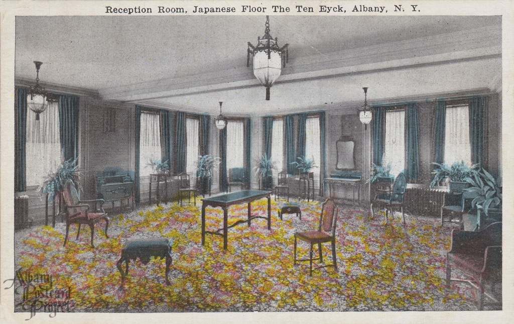 Reception Room Japanese Floor The Ten Eyck Albany