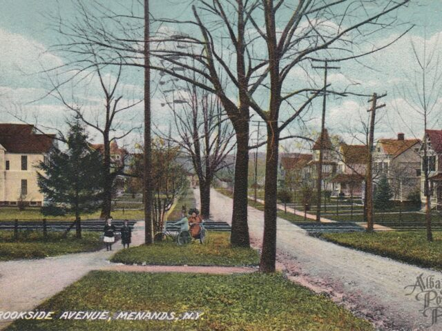 Brookside Avenue, Menands