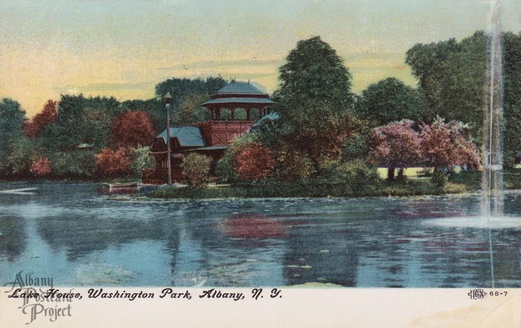 Lake House, Washington Park