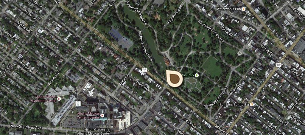 Map The Lake, Washington Park 01