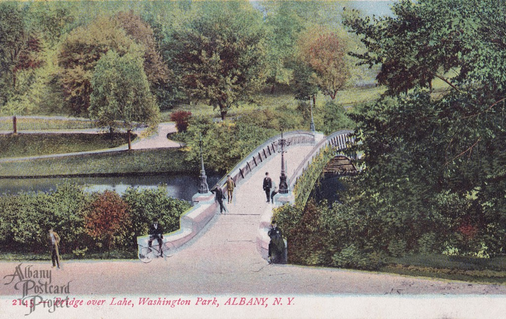 Bridge over Lake, Washington Park