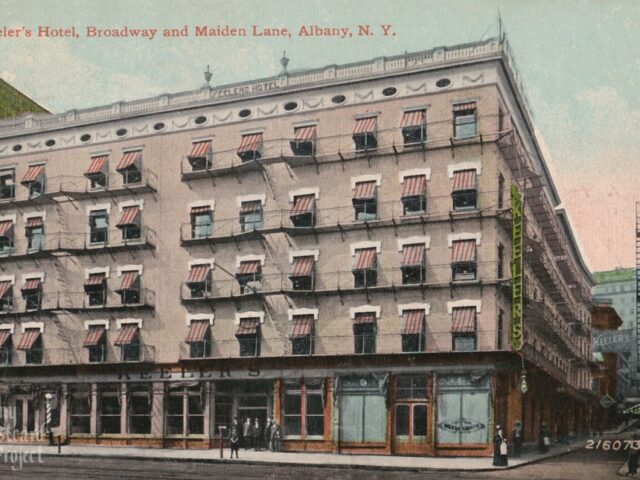 Keeler's Hotel, Broadway and Maiden Lane