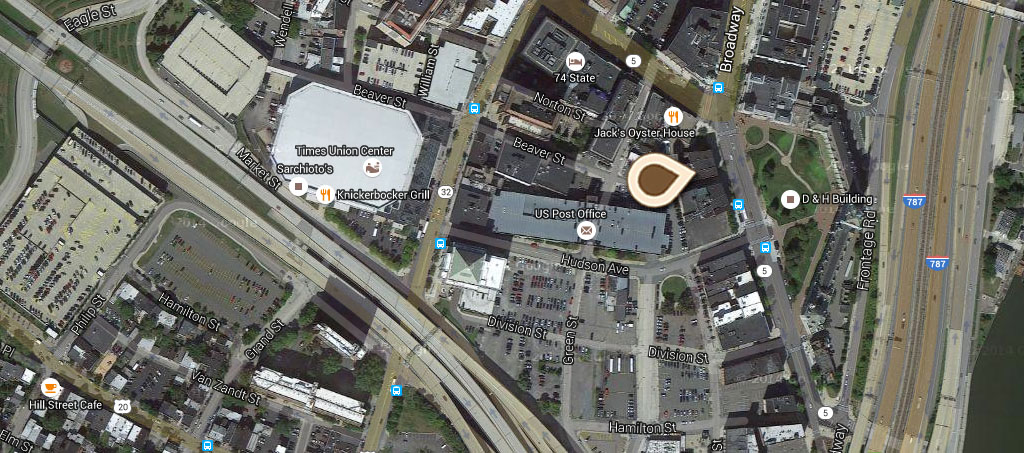 Map The D&H Building 01