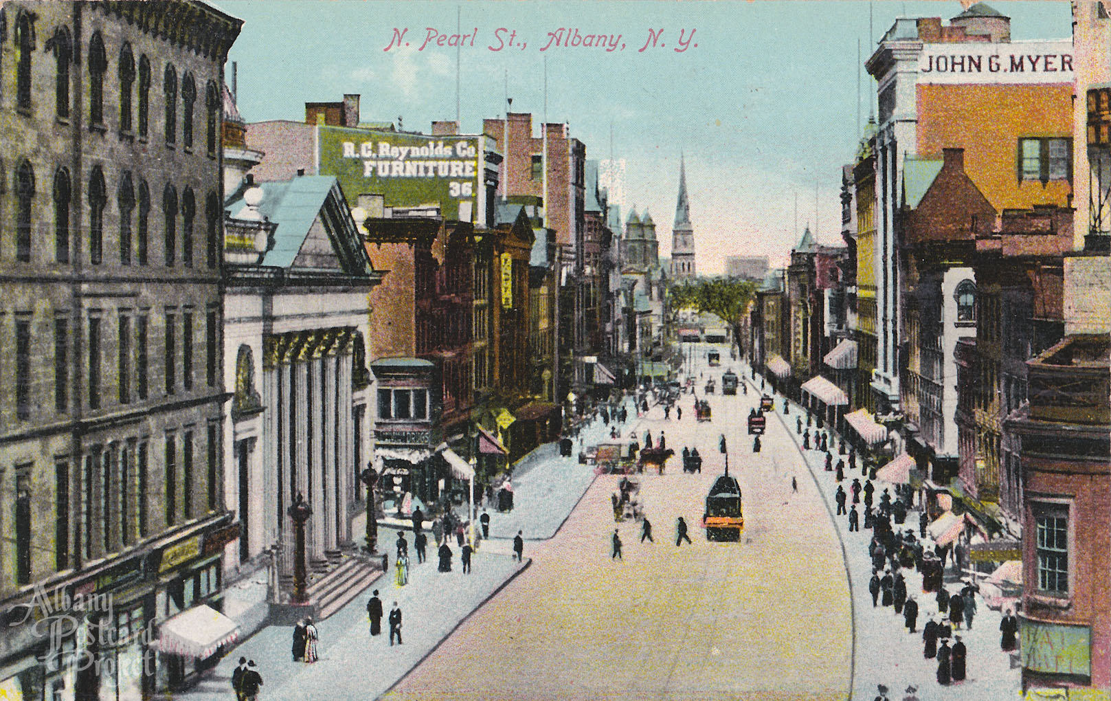 N Pearl St Albany Postcard Project