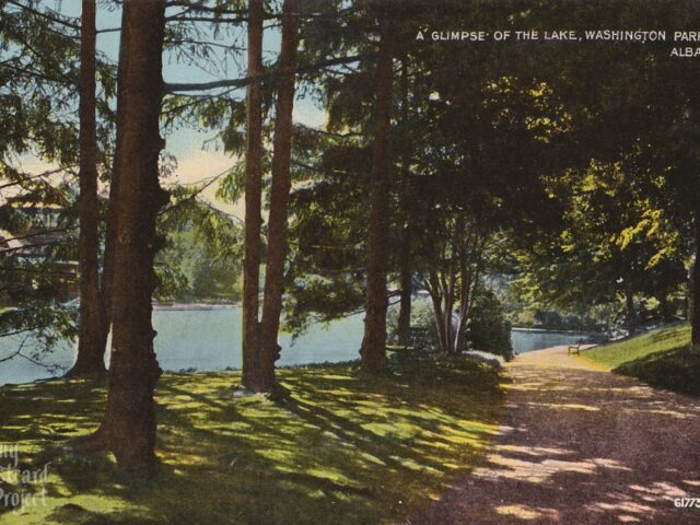 A Glimpse of the Lake, Washington Park