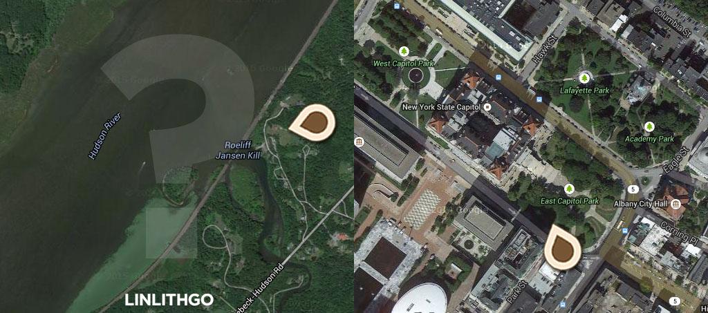 Map Albany Dear Albany