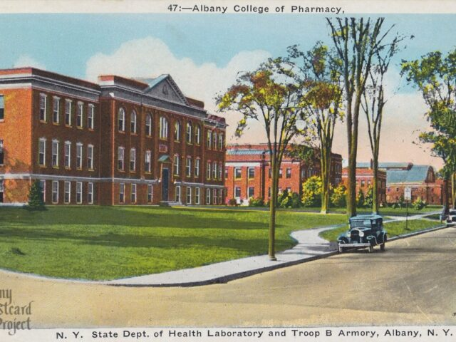 Albany College of Pharmacy, NY State Dept. of Health Laboratory and Troop B Armory