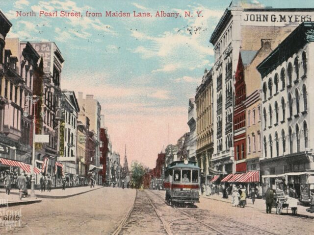 North Pearl Street, from Maiden Lane