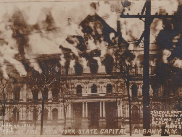 March 29, 1911 Fire – New York State Capital