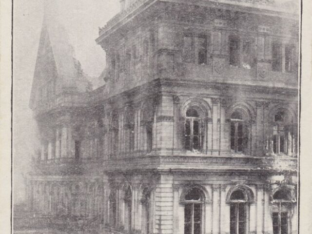 The $7,000,000 Which Ruined NY State Capitol March 29, 1911