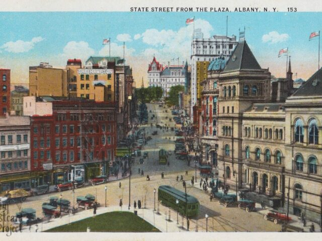State Street from the Plaza