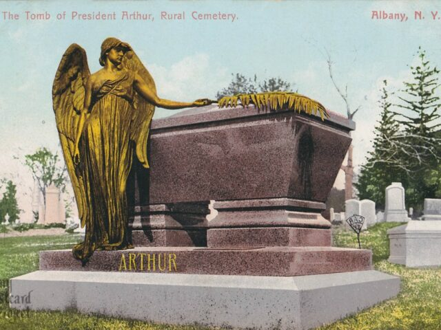 The Tomb of President Arthur, Rural Cemetery