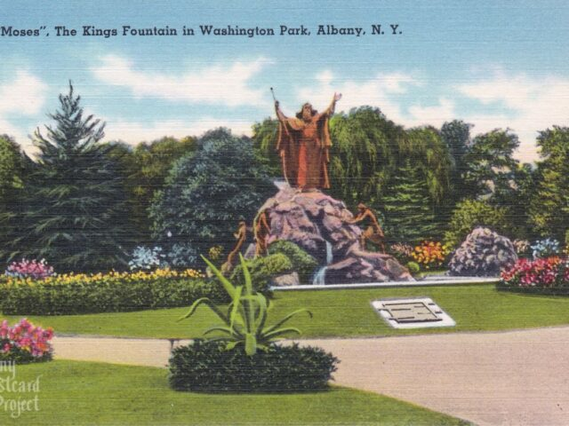 """Moses"", The Kings Fountain in Washington Park"
