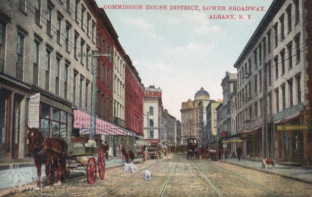 Commission House District, Lower Broadway