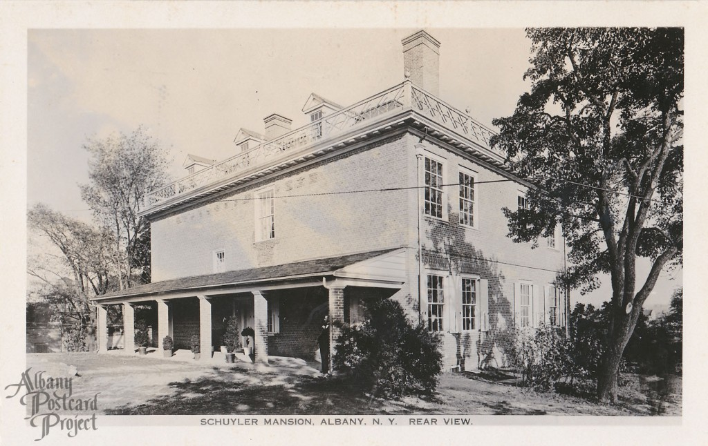 Schuyler Mansion, Rear View