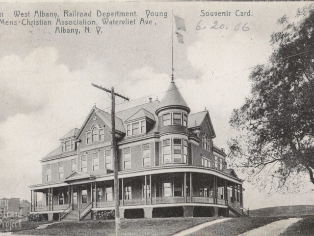 West Albany, Railroad Department, Young Mens Christian Association, Watervliet Ave