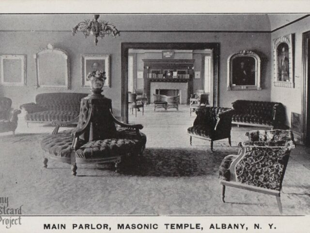 Main Parlor, Masonic Lodge