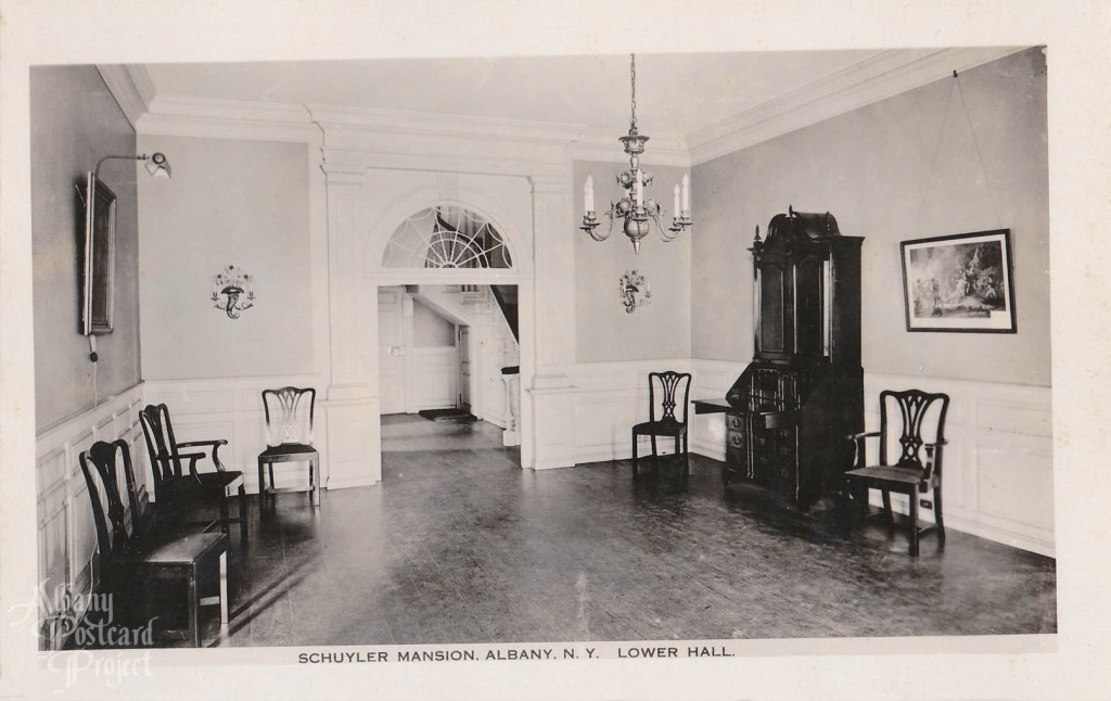 Schuyler Mansion, Lower Hall